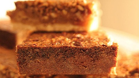 maple-pecan squares