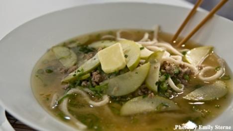 Miso Butter Pork Udon Noodles