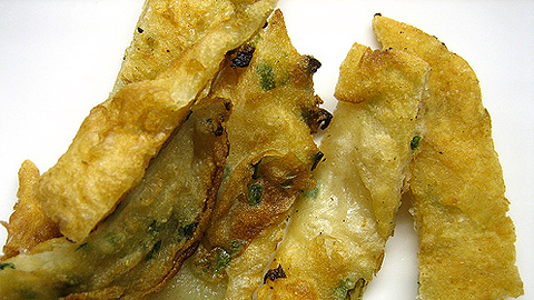 The Daily Dish: Scallion pancakes with dipping sauce | WGBH Foodie ...